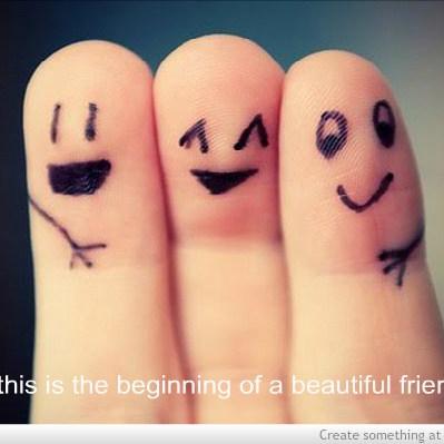 Beginning of a beautifulfriendship