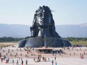 03 112-ft Adiyogi Statue at IYC