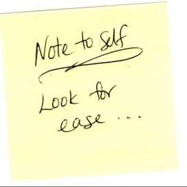 Note-to-self-ease